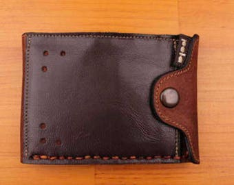 American Wallet with Zipper