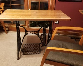 Solid Cherry Top Writing Desk