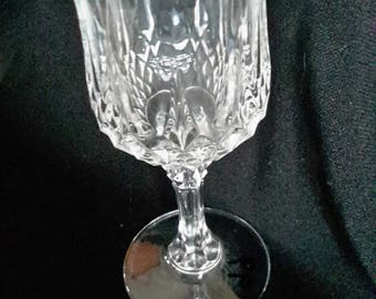 Clear crystal cordial glass