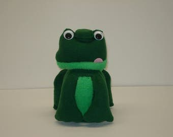 Green Frog Coin Bank. Stands 9 inches tall