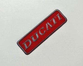 Ducati Patchs Motorcycle Embroidered Sew Iron On Patch Racing Sport Motor