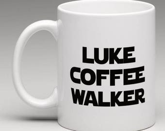 Star Wars inspired mug - Luke Coffee Walker Mug