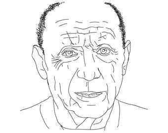 Portrait - Illustration - Pablo Picasso