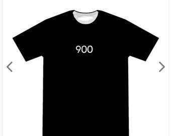 Men's black 900 t-shirt