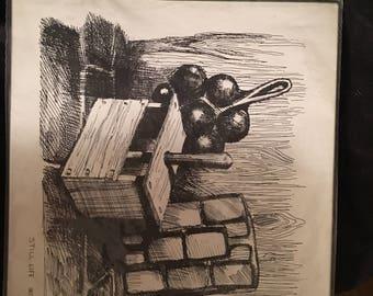 Pristine sketch by Peter Etril Snyder