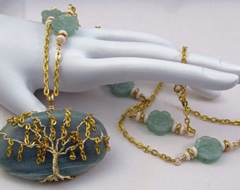 Weeping Willow Tree of Life Necklace