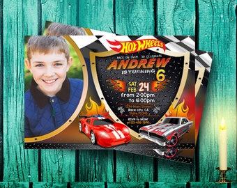 Hot Wheels Invitation,Hot Wheels Birthday,Hot Wheels Birthday Invitation,Hot Wheels Birthday Pary,Hot Wheels Printable,Hot Wheels-F1241