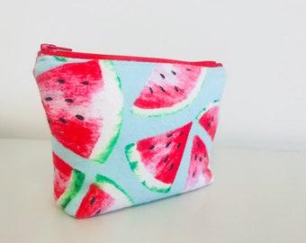 Watermelon Essential Oil Bag | Summer Bag | Watermelon Pouch