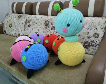 Cute Coloring Croche Worm