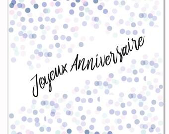 Greeting card birthday, friendship, encouragement card happy birthday card card