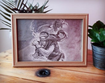 Fine art print A4 Prince of Persia