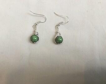 Wire work  earrings