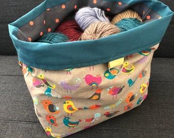 Kitting etsy huge project bag yarnknittingcrochet fandeluxe Choice Image