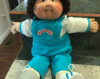 1978-1982 Original Cabbage Patch Kids Doll With Winter Clothes
