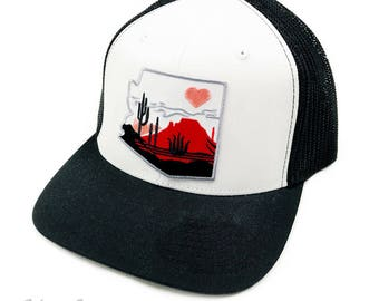 Heart of the Desert : FlexFit Trucker Cap