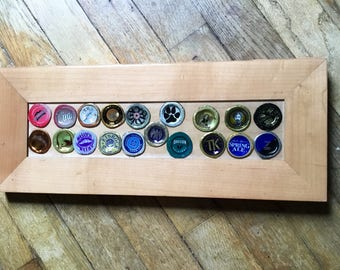 Throw Back Vintage Beer Bottle Cap tray/picture