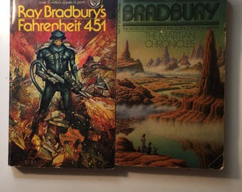 Ray Bradbury Fahrenheit 451 and The Martian Chronicles