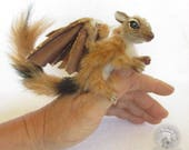 Dragon Furry Poseable Art Doll Sculpture Collectible