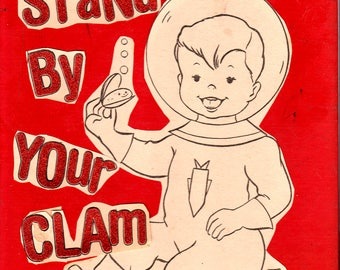 Stand By Your Clam {Original Collage}