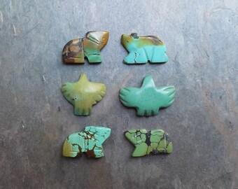 Turquoise Fetish beads
