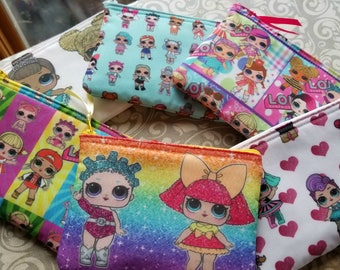 Custom Listing for 15 LOL Zip Clutch purses for Rocky