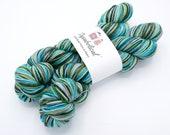 Thunderboom Watercolor Stripes, Self Striping Sock Yarn Corriedale - In Stock