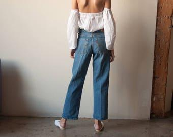 LEVIS loose straight leg jeans / classic levis / 29W / 29x29 / 2777t