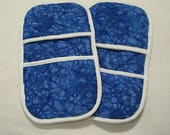 Reserved for acequimbey -- Blue Crackle Micromitts
