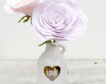 2nd Anniversary Bouquet of cotton flowers Rose Pink Cotton Check processing and delivery times