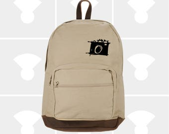 Classic Canvas Backpack - Variety of Camera Graphics