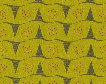 Japanese Fabric Kokka Tayutou - corn - C - 50cm