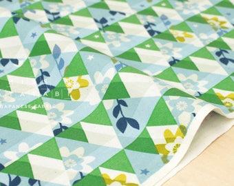 Cotton + Steel Flutter - kaleidoscope - green - 50cm