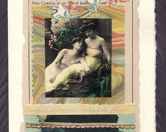 Lesbian Love Wedding Collage Card The Right Way