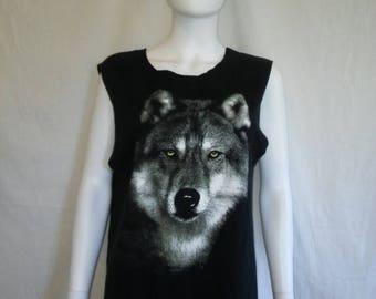 SALE 25% off SALE Wolf Wolves tank top t shirt