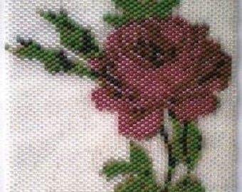 Red Rose Amulet Bag Panel