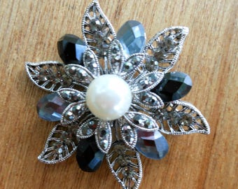Retired Premier Jewelry Brooch Pin Fab for Necklace