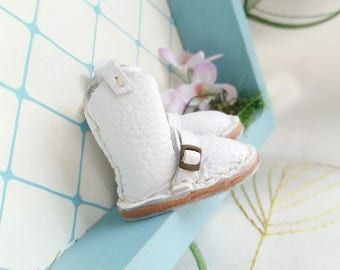 Mini Whe Leather Boots Neo Blythe Azone Pureneemo M S Hand Made By MizuSGarden