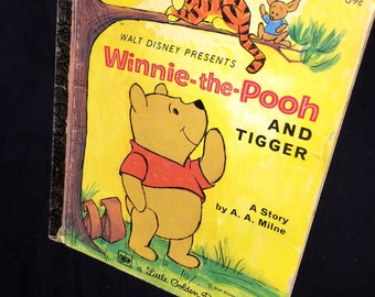 1979 Little Golden Winnie the Pooh and Tigger