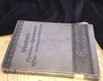 1912 Werner's Readings and Recitations