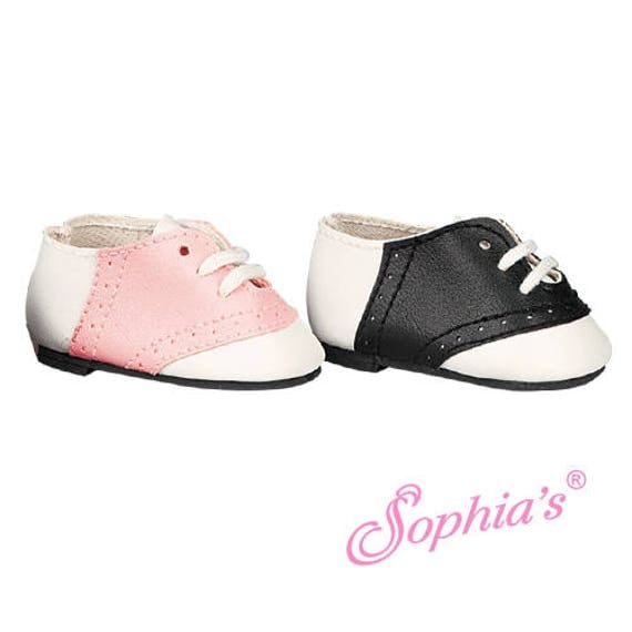 Saddle Shoes - 18 Inch Doll Shoes