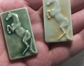 Horse Tile Mosaic  Ceramic Rearing  Porcelain Your Choice