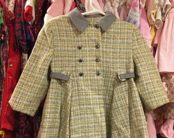 1950s Toddler Coat 3T