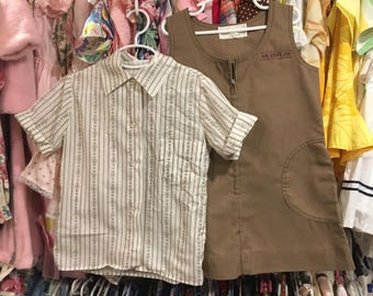 80s Brownie Shirt and Dress 6/7