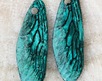 Stained and sealed dragonfly wings by joycelo
