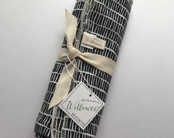 SALE Matchsticks XL Knit Cotton Swaddle Blanket