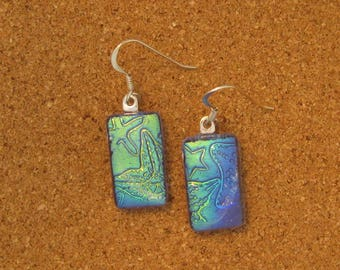 how to make fused glass earrings