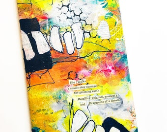 "Journal, Notebook, Sketchbook, Traveler's Notebook - New ""She"" Found Poetry Journals"