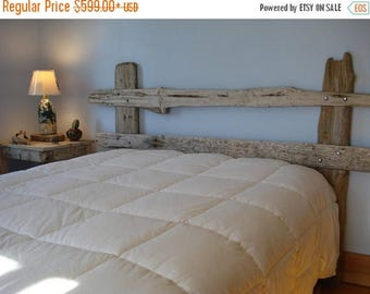 ON SALE Rustic Driftwood Headboard