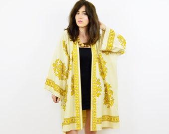Boho Kimono, Kimono jacket, Kimono robe, Hippie kimono, Hippie jacket, Boho jacket, Summer kimono, Vintage kimono, Festival kimono, Kimono