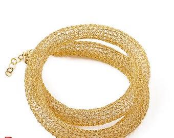 On SALE 20% - Crochet pattern of a wire crochet Necklace , PDF pattern tutorial ebook step by step instructions , jewelry pattern ,